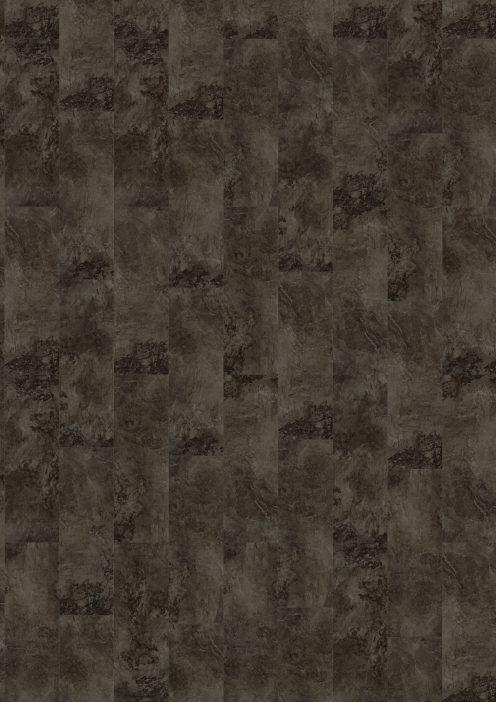 Kork in Marmoroptik, schwarz